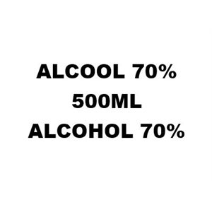 ALCOHOL 70% 500ML