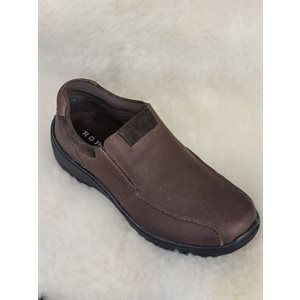 MENS SLIP ON ROPER BRUN
