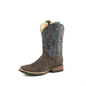 MENS WAXY BROWN ROPER BOOTS