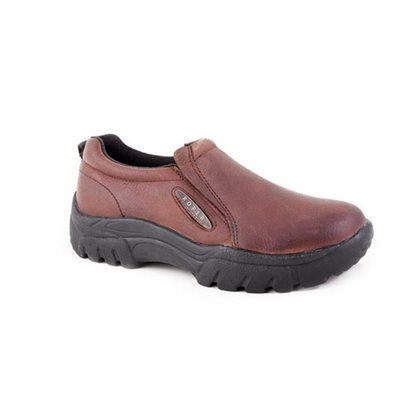 BOTTE ROPER HOMME SLIP ON CHOCOLAT