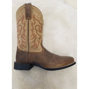 MENS ARIAT BOOTS HERT REINSMAN TEN / BROWN