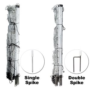 ELECTROSTOP NETTING DOUBLE SPIKE 10 / 42 / 12 50M