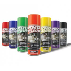 Aerosol spray marker - Pro Mark blue